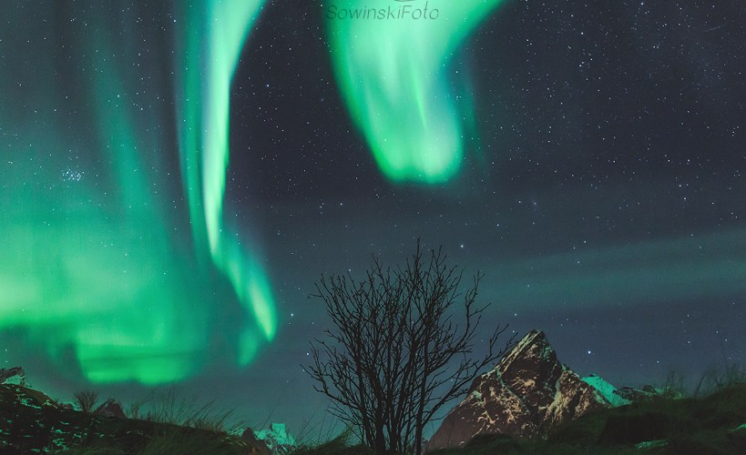Zorza Norwegia zdjęcia wysokiej rozdzielczości