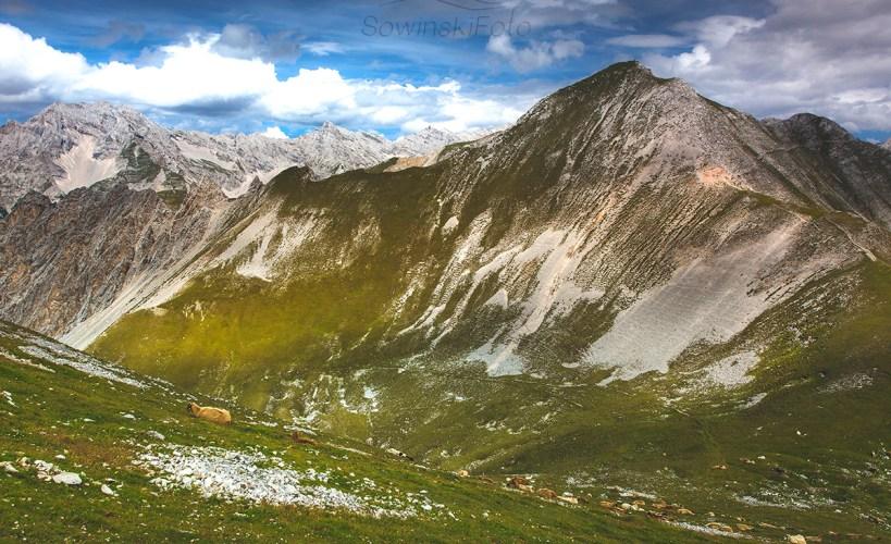 Krajobraz Alpy Austria