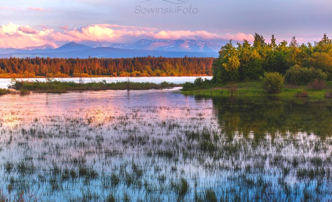 Krajobraz Jezioro Orawa