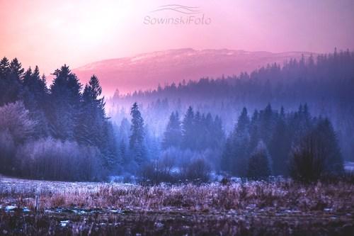 Krajobraz Babia Góra zdjęcie na płótnie