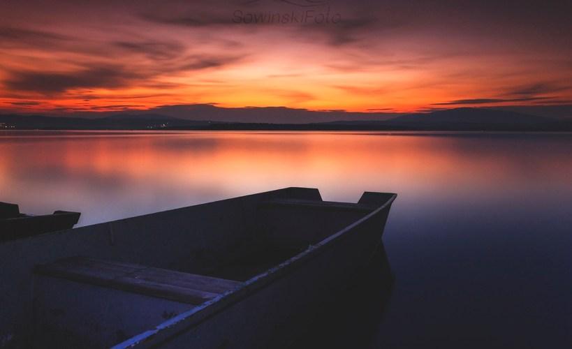 Noc na Jeziorze Orawskim