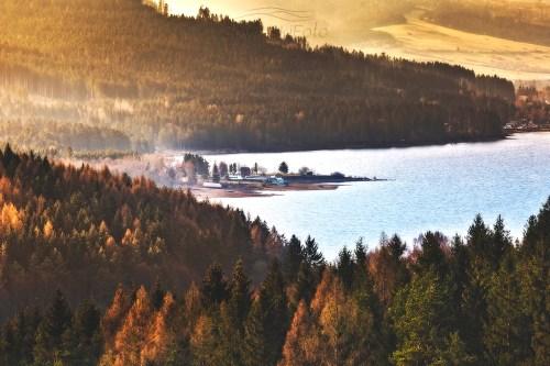 Krajobraz Jezioro Orawskie zdjęcie