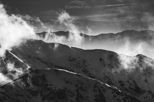 Krajobraz Tatry zdjęcie zima