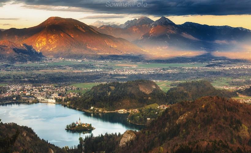 Dekoracja wnętrz Bled Słowenia
