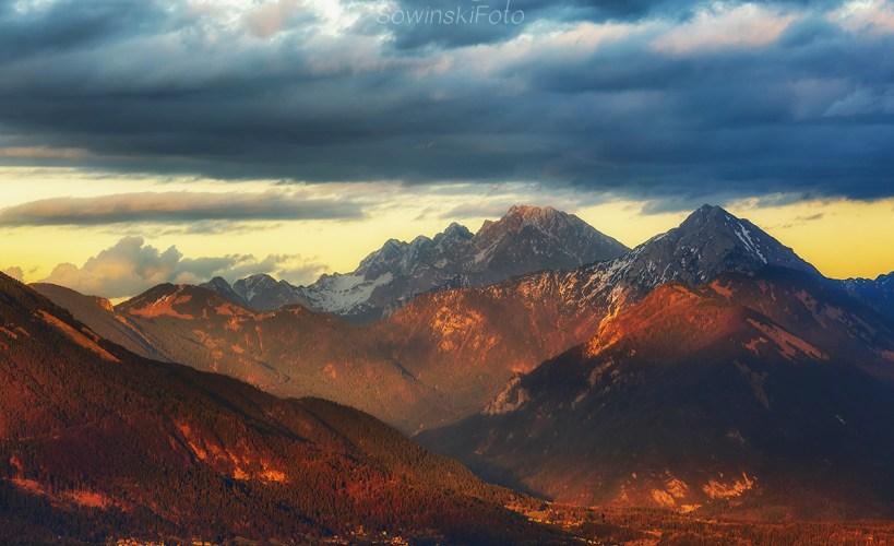 Dekoracja wnętrz Alpy Słowenia