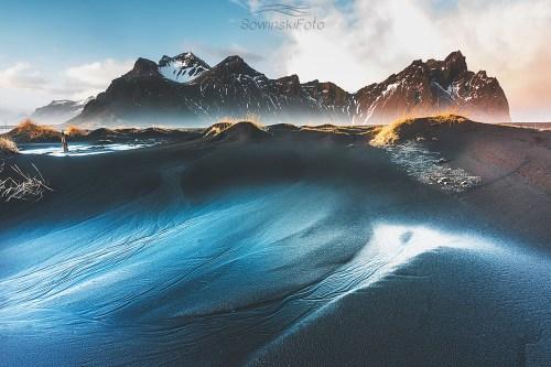 Dekoracja wnętrz góry Islandia