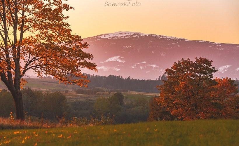 Babia Góra jesień zdjęcie