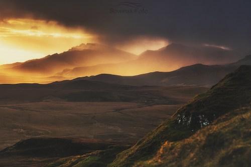 Krajobraz góry zdjęcie Szkocja