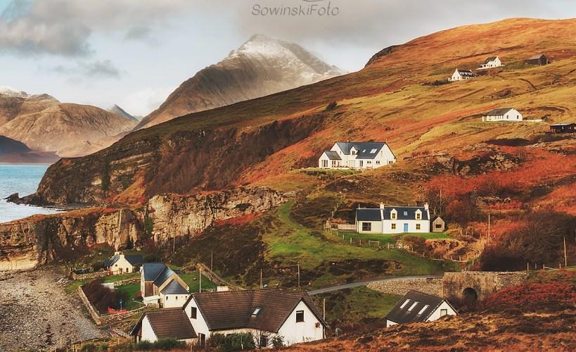 Krajobraz Górski Isle of Skye