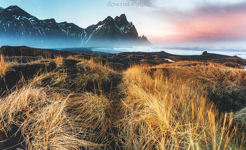 Zdjęcie na płótnie Islandia plaża