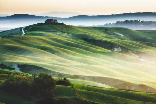 Krajobraz Toskania wydruk