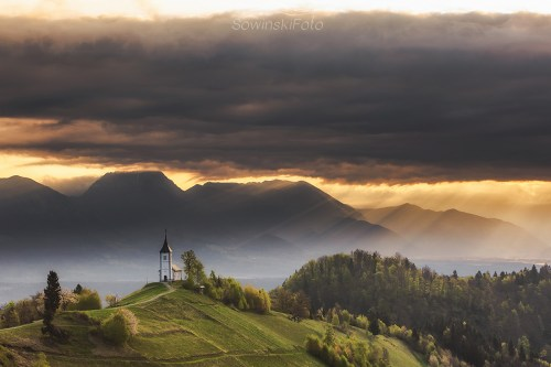 Słowenia góry latem
