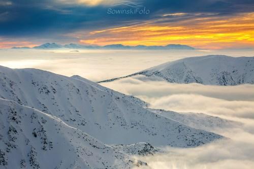 Tatry nad chmurami