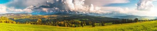 Krajobraz Łapszanka Łapszanka
