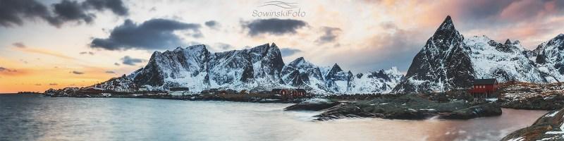 Zatoka po zachodzie /Norwegia