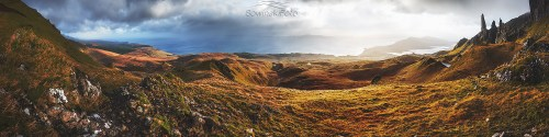 Szkocja panorama