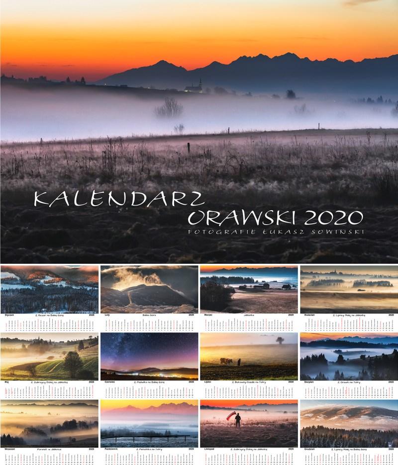 Kalendarz Orawski 2020