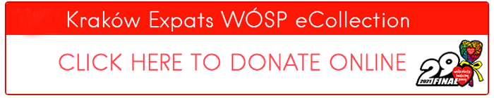 Krakow Expats WOSP Donate Collection