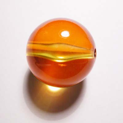 acryl rond geel 24 mm