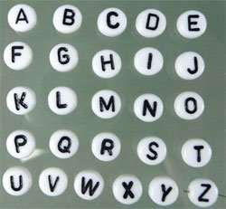 """letterkraal """"R"""""""