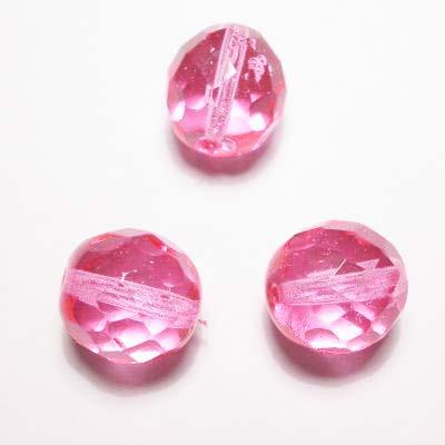 facet roze 12 mm