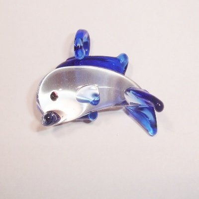 dolfijn blauw
