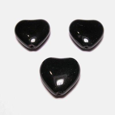 hartje zwart 16 mm