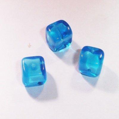 kubus blauw/wit 9 mm