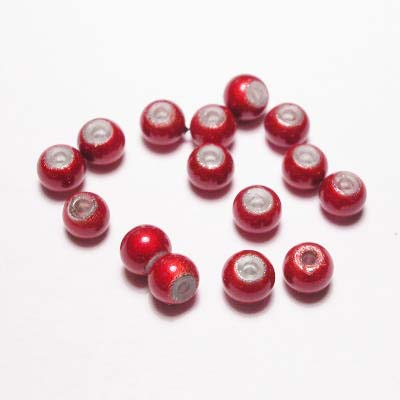 miracle bead rood 4 mm