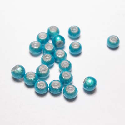 miracle bead turkoois 4 mm