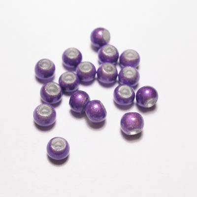 miracle bead blauwpaars 4 mm