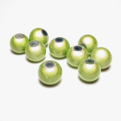 miracle bead lichtgroen 8 mm