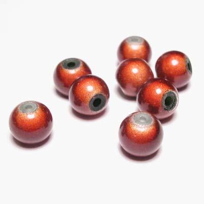 miracle bead bruin 8 mm