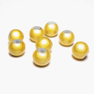 miracle bead geel 8 mm