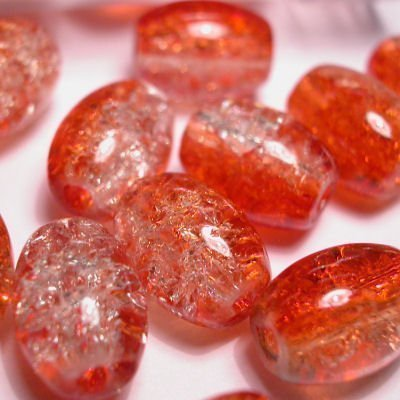 crushed beads 10x8 mm kleur 1695