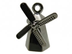 metalen hanger molen 19x12 mm