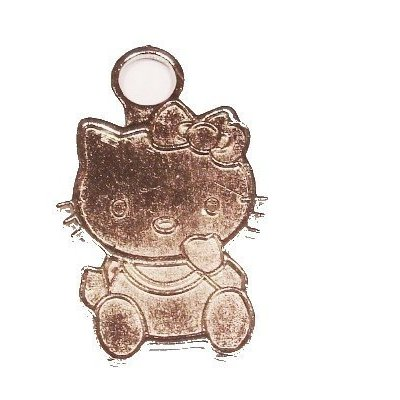 metalen hanger hello kitty 27 mm