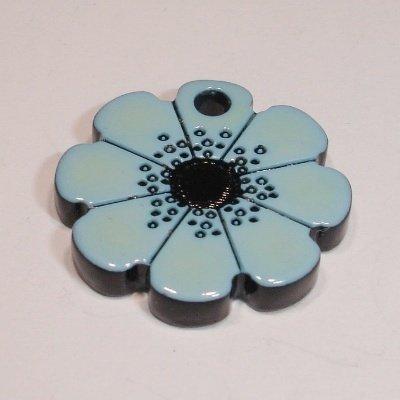 bloem blauw 18 mm