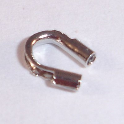 metalen wire gardian 5x4 mm nikkelkleur