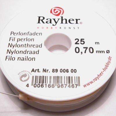 nylondraad transparant 0,70 mm