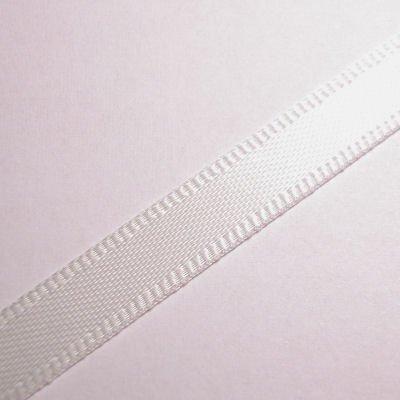 satijnlint 7 mm gebroken wit