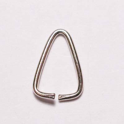 aanbuigtriangel zilver 9 mm