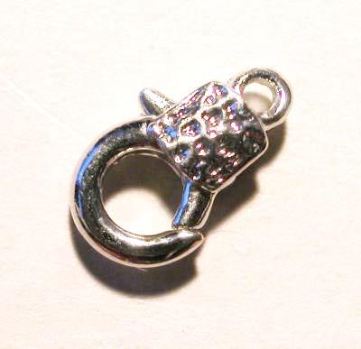 sluiting antiek platina 12 mm