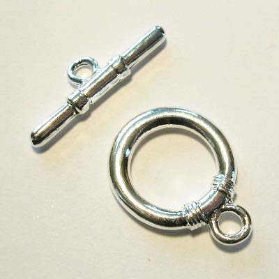 kapittelslot zilver 22 mm