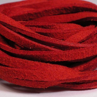 veter kunstsuede rood 3 mm
