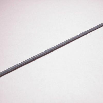 rond runderleer grijs 1,5 mm