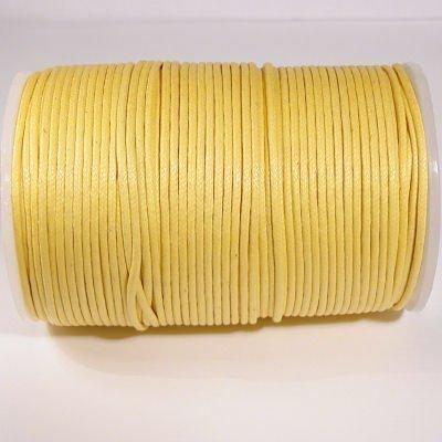 waxkoord 2mm geel