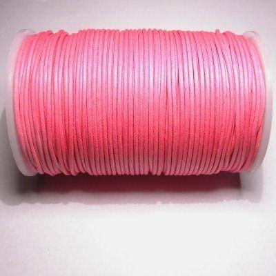 waxkoord 2mm roze
