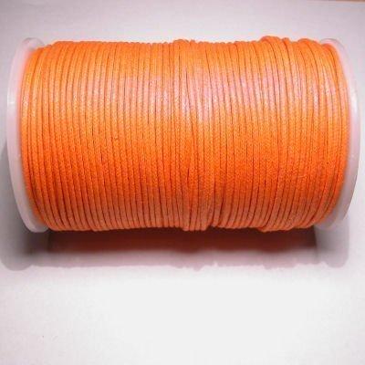 waxkoord 2mm oranje