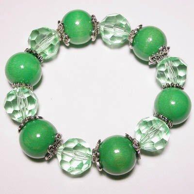 elastische armband groen